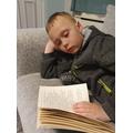 Reading with Nicholas