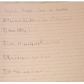 Sentences about the Great Fire by Sandu
