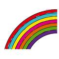 Ethan's Purple Mash rainbow