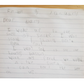 Diary entry by Callum