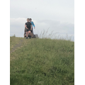 Callum and his brother enjoying long walks