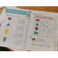 Maths work by Ethan
