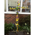 Our Easter cross - thank you for donating flowers!