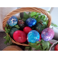 Look at Rares' painted eggs for Easter!