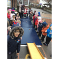 Our egg rolling