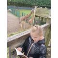 E reading at Blackpool Zoo (4)