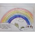 Rainbow of hope by Callum