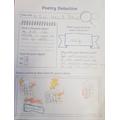 Poetry detective work by Callum