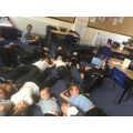 We were so exhausted after our fun day we needed a lie down!
