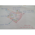 Planning letter ideas by Nicholas