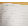 Capital letters and full stops by Callum