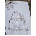 Callum's mud art