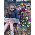 R reading to her Grandad