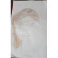 A beautiful portrait by Fraiya