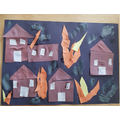 Callum's finished Fire of London art - well done!