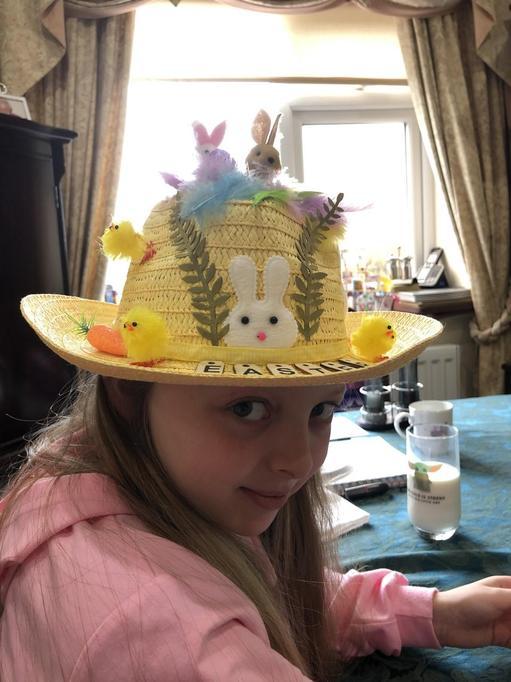 Amelia's hat 2