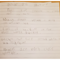 Callum's Great Fire sentences