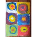 Gabriela's fantastic Kandinsky work