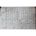 Fatima's maths