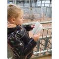 E reading at Blackpool Zoo (2)