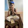 Benjamin as Aladdin