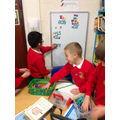 Spelling practice in the Resource Area