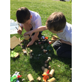 Building homes for our Woodland friends