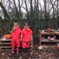 Learning about space and measure in our MudKitchen