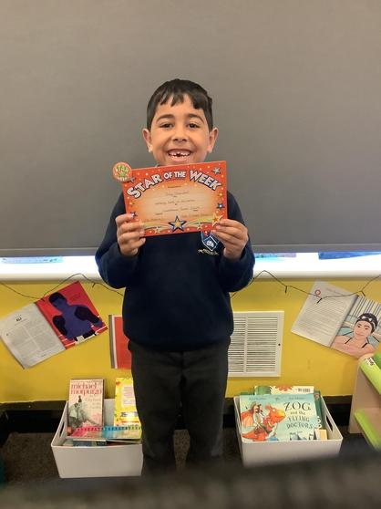 Our Star of the Week - Joey.