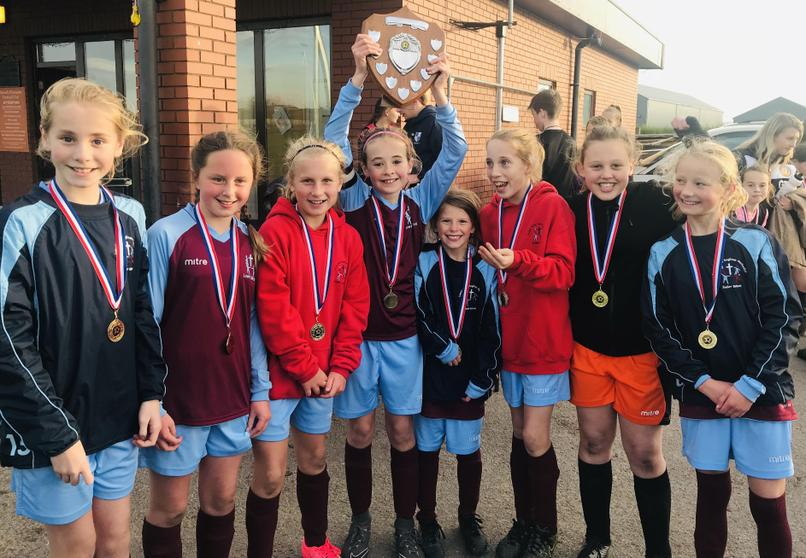 2018-19 Girls Autumn Winners