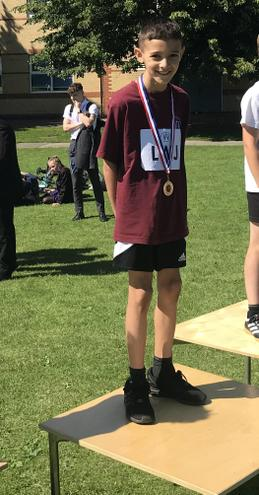 Harlow wins gold in the Year 4 boys 70m