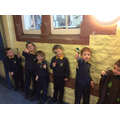Proud of their 'Stickmen' characters!