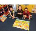 Giant farm puzzle