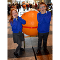 The Christingles were enormous!