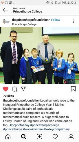 Princethorpe Instagram