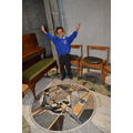 We even found some mosaics on the chapel floor