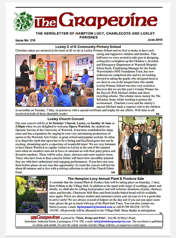 Issue 210, June 2019