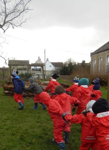 Role play - a shrew caravan!