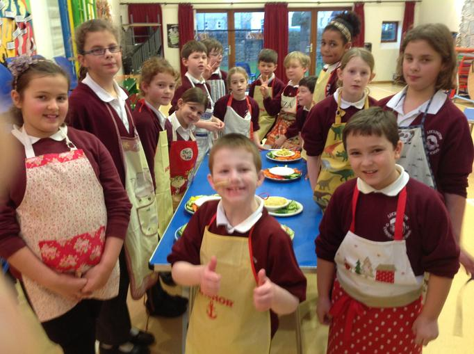 Thumbs up for cookery club!