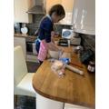 AJ: Baking Scones