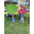 GG Toadstool Painting