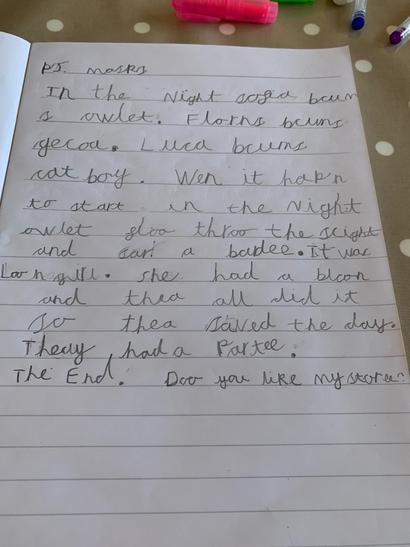 A lovely story!