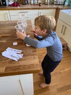 Examining how full containers are
