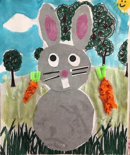 A brilliant bunny!