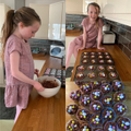 AJ: Baking Easter Nests