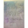 A letter to Nana!