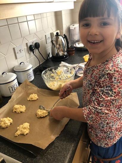 Making cheesy puffs
