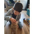 Playing Jenga!
