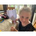 A Pippety paper plane!