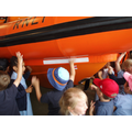 A chance to touch the hull!